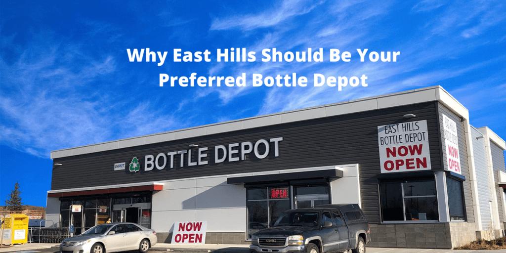 East Hills Bottle Depot is the hot spot to return your bottles!
