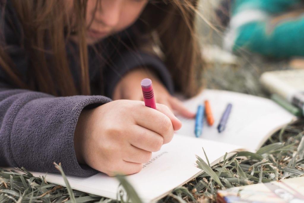 Kids nature diary